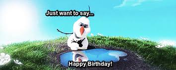 Frozen Birthday Meme - happy birthday gif find share on giphy