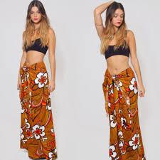 hawaiian pattern skirt best hawaiian wrap skirts products on wanelo