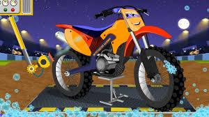 childs motocross bike motocross bike childrens cartoon car video for kids youtube