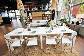 interactive 500 square foot u0027micro loft u0027 shows off small living