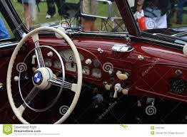 bmw vintage vintage bmw sports car interior editorial photography image
