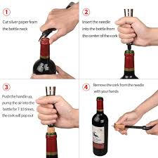 amazon com qishare elegant air pressure wine bottle opener pump