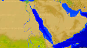The Red Sea Map Primap Marine Charts