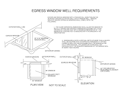 egress window well cost