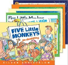 10 Monkeys Jumping On The Bed Five Little Monkeys 6 Book Set Eileen Christelow 9780545428118