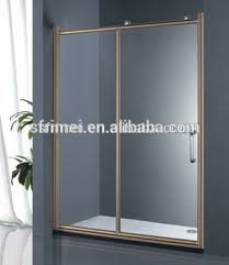 Smart Glass Shower Door New Arrival Gold Sliding Smart Glass Shower Door Buy Smart