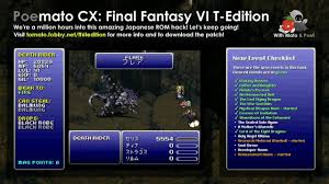 final fantasy vi t edition live english translation poemato cx