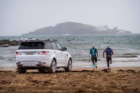 land rover sport 2018 the 2018 range rover sport isn u0027t afraid of dipping into the sea