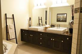 sink bathroom decorating ideas 1 black cabinets and storage units cabinets with led lights trough
