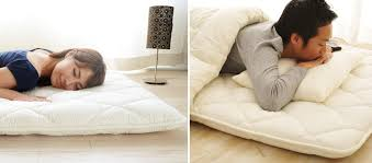 japanese futon mattress and sheets by emoor