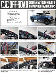 Led Light Bar Installation by Cjc Off Road Blog Dodge 3rd Gen 50