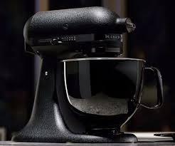 all black kitchenaid mixer black tie stand mixer