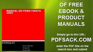manual do ford fiesta 2001 video dailymotion