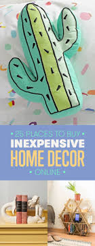 25 of the best places to buy inexpensive home decor