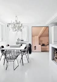 Mirrors In Dining Room A Trendy Reflection Tinted Mirror Style