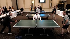 Brunswick Table Tennis Serious Fun Augusta Table Tennis Classic To Help Put Food On