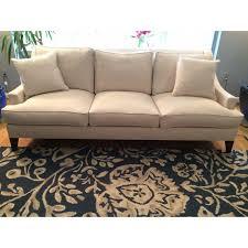 living spaces emerson sofa new custom ethan allen emerson sofa chairish