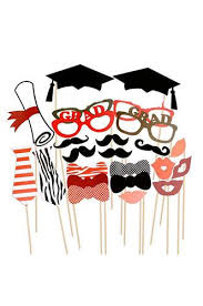 photo booth supplies photo booth prop graduation party masks with sticks pra133
