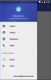 cara membuat menu dropdown keren membuat navigation drawer menu android dedy kuncoro