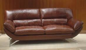 sofa stunning brown leather sofa bed milano sofabed brown