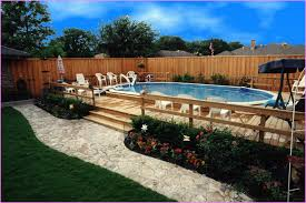 cool above ground pool landscaping successful decision for your