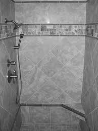 Gray Tile Bathroom Ideas Small Bathroom Designs With Dark Brown Ceramic Tile Floor And