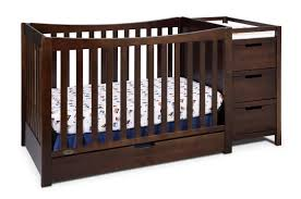 4 In 1 Crib With Changing Table Graco Remi 4 In 1 Convertible Crib And Changer Espresso Shop