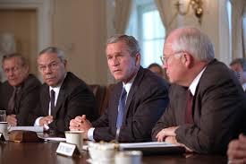 George Bush Cabinet George W Bush 2001 2009 U2013 U S Presidential History