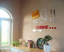 lettre deco cuisine décoration murale cuisine machiawase me