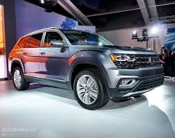 atlas volkswagen 2018 2018 atlas looks like it has the weight of volkswagen usa on its