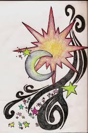 sun moon boho designs celestial sun moon and
