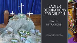 easter church decorations how to make an easter diorama for church