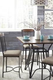 square dining room counter table set by signature design by ashley