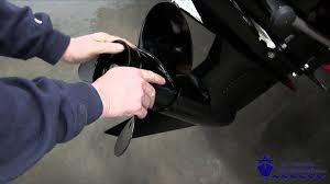 how to install a mercruiser flo torq propeller youtube