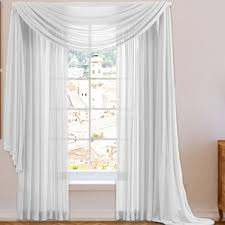 Sheer Valances For Windows Swag Curtains U0026 Valances You U0027ll Love Wayfair