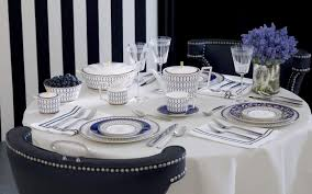 blue and white table ls dress your dining table for every occasion