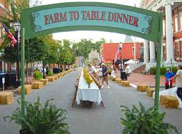 farm to table dinner johnson city press jonesborough farm to table dinner serves 216 guests