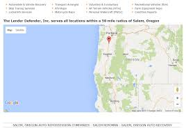 Google Maps Medford Oregon by Salem Oregon Repossession Company Licensed Repoman