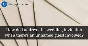 wedding invitations how to address addressing sending wedding invitations the emily post