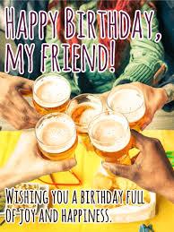 cheers happy birthday card for friends birthday u0026 greeting
