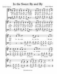 free choir sheet in the sweet by and by