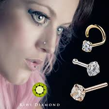 beautiful nose rings images Nose to nose the evolution of men and women 39 s nose piercing jpg