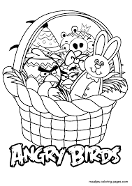 easter angry birds coloring pages u0027s angry birds