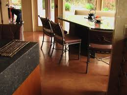 stained concrete floors pros and cons why rock staining cost