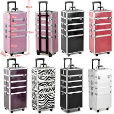 4 in 1 large beauty make up nail tech cosmetic jewelry trolley box