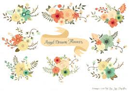 wedding flowers clipart elower wedding flower pencil and in color elower