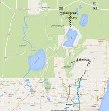 Chicago On Map Vacation Rental Lakehouse At Forest Lake Campbellsport Wi