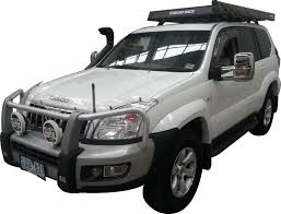 toyota prado towing side mirrors landcruiser prado