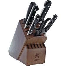 zwilling ja henckels pro 7 piece knife block set u0026 reviews wayfair