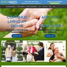 home care website design web design amp marketing for in home care